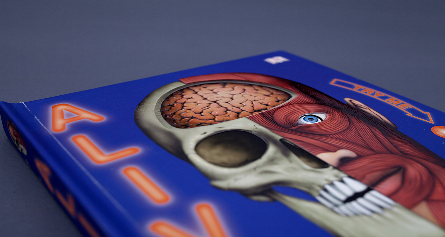 Front cover of Alive pop-up book