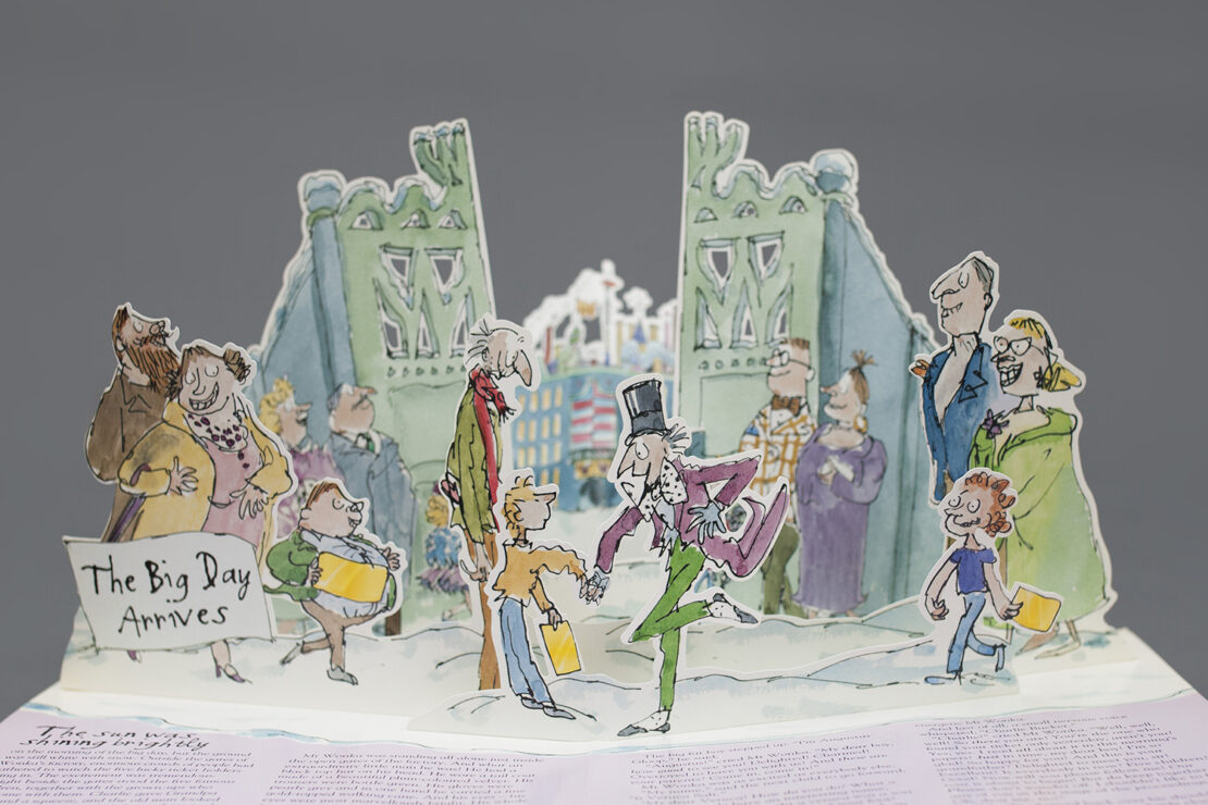 Charlie and the Chocolate Factory pop-up book - Papersmyths