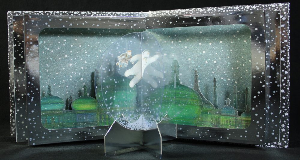The Snowman Storybook & Magical Pop-up Snowglobe Spread 6