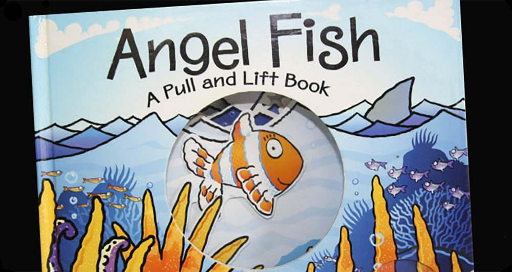 Front cover of pop up Angle Fish book