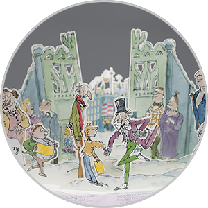 Charlie and the chocolate factory pop up book test print