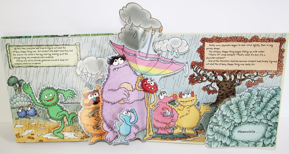 Monsters pop-up book