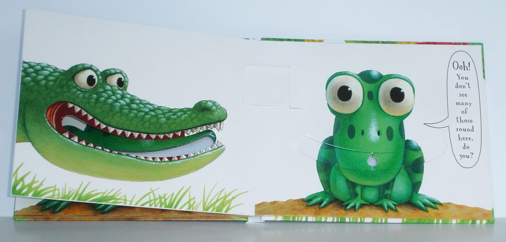 The Wide Mouthed Frog pop-up book