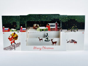 pop-up Santa card main